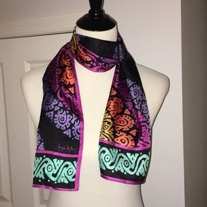 Beautiful Nicole Miller silk scarf